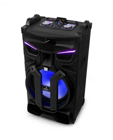 """Auna Silhouettes, párty zvukový systém, 15"""" reproduktor, USB, SD, BT, 450 W, čierny"""