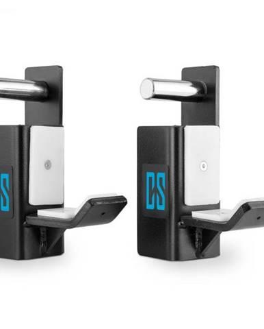 Capital Sports J-Hook, čierne, dvojica pozinkovaných J-hákov ako príslušenstvo pre posilňovací stojan