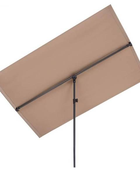 Blumfeldt Blumfeldt Flex-Shade XL, slnečník, 150 x 210 cm, polyester, UV 50, sivohnedá