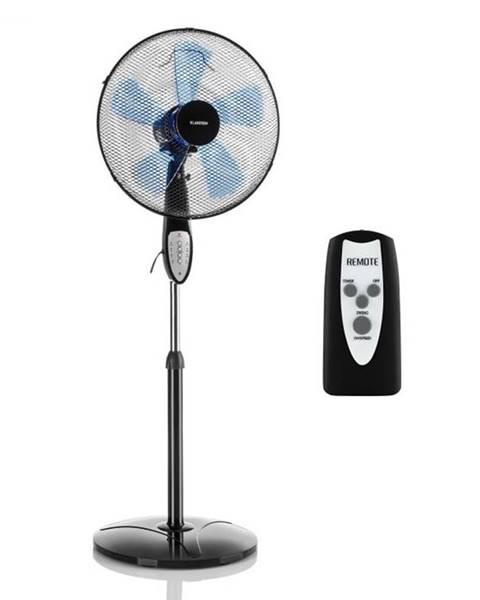 Klarstein Klarstein Summerjam, stojanový ventilátor, 41 cm, 50 W, 3 stupne rýchlosti, diaľkový ovládač, čierny