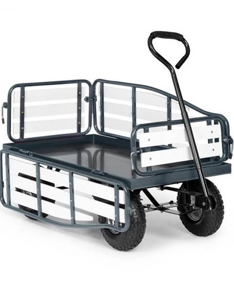 Waldbeck Waldbeck Ventura, ručný vozík, maximálna záťaž 300 kg, oceľ, WPC, čierny