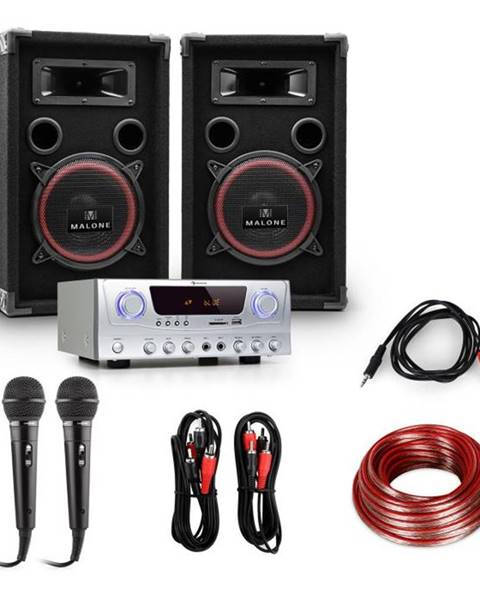 Electronic-Star Electronic-Star DJ set EASY, zosilňovač, reproduktory, 1000 W