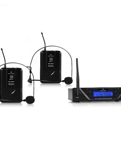 Bezdrôtový mikrofónový set Malone UHF-450 Duo2, 2 kanály