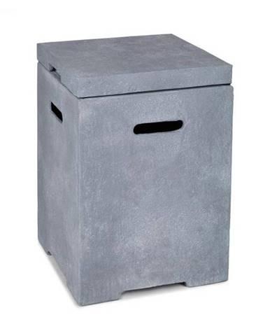 Blumfeldt Gas Garage, box na uskladnenie nádoby s plynom do 9 kg, svetlosivý