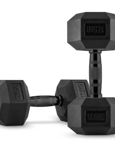 Capital Sports Hexbell, jednoručná činka, pár 2 x 17,5 kg