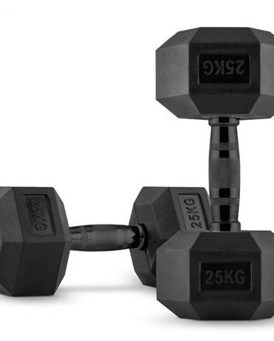 Capital Sports Hexbell, jednoručná činka, pár 2 x 25 kg