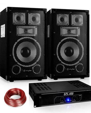 "Electronic-Star PA set Saphir Series ""Warm Up Party"" 8PLUS"