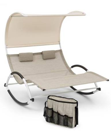 Blumfeldt Brentwood, hojdacie ležadlo, taška, tvar vlny, ComfortMesh