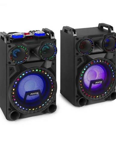 "Fenton VS10, sada aktívnych reproduktorov, 800 W, 10"" subwoofer, BT, USB port, SD Slot, LED"