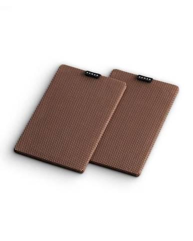 Numan Retrospective 1979 S, hnedý, textilný kryt, 2 kusy, poťah na regálový reprodukto