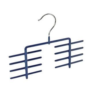 Protišmykový vešiak na kravaty v modrej farbe Wenko Holder James