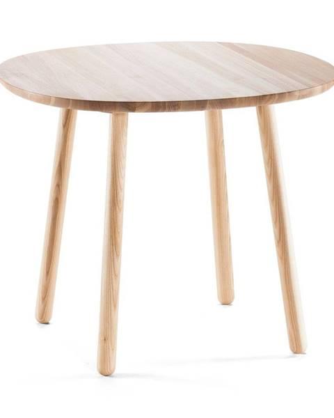 EMKO Prírodný jedálenský stôl z masívu EMKO Naïve, ⌀ 90cm