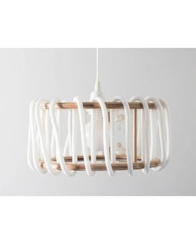 Biele stropné svietidlo EMKO Macaron, 45 cm