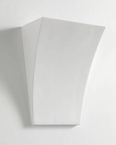 Biela nástenná lampa Tomasucci Firenze