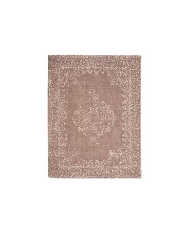 Hnedý koberec LABEL51 Vintage, 160 x 140 cm