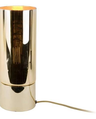 Stolová lampa v zlatej farbe so zrkadlovým leskom Leitmotiv Lax