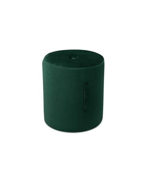 Mazzini Sofas Zelený puf Mazzini Sofas Fiore, ⌀ 40 cm