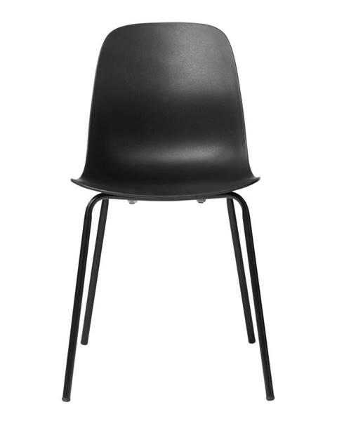 Unique Furniture Čierna jedálenská stolička Unique Furniture Whitby