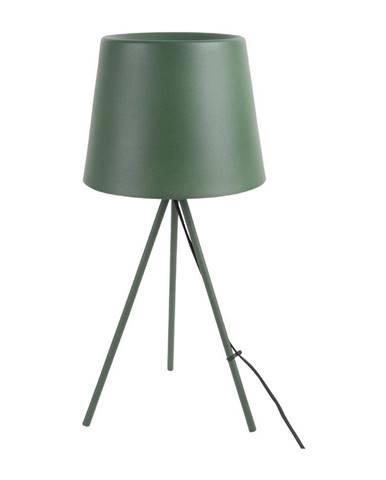 Tmavozelená stolová lampa Leitmotiv Classy