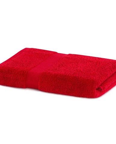 Červený uterák DecoKing Marina, 70 × 140 cm