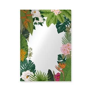 Nástenné zrkadlo Surdic Espejo Decorado Tropical Frame, 50×70 cm