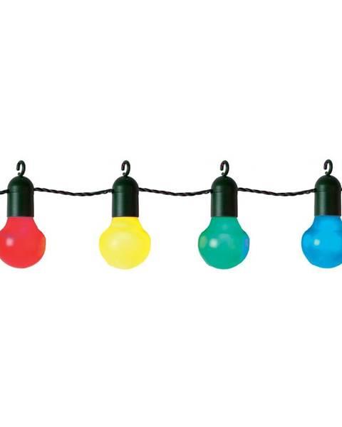 Best Season Farebná svetelná LED reťaz vhodná do exteriéru Best Season Party, 20 svetielok