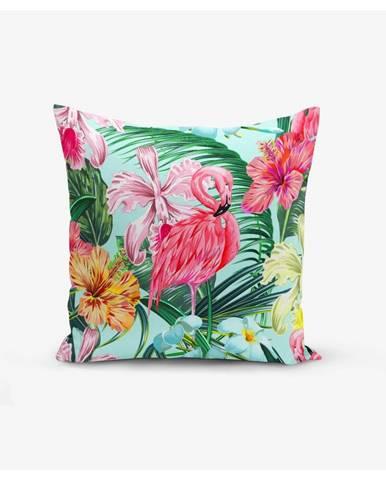 Obliečka na vankúš Minimalist Cushion Covers Yalnız Flamingo, 45 × 45 cm