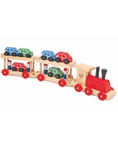 Vláčik s 12 vagónmi Legler Motorail