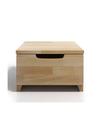 Nočný stolík z bukového dreva sozásuvkou SKANDICA Spectrum