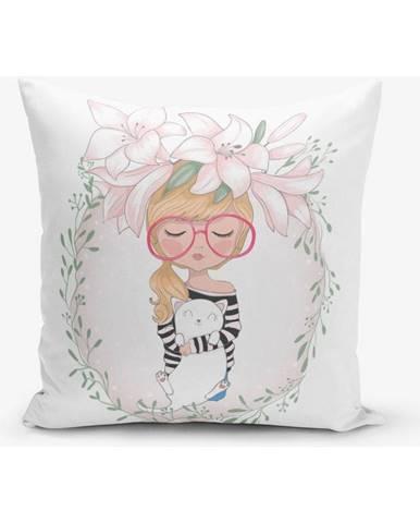 Obliečka na vaknúš s prímesou bavlny Minimalist Cushion Covers Student, 45×45 cm