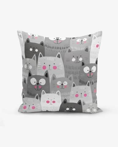 Obliečka na vankúš s prímesou bavlny Minimalist Cushion Covers Catty, 45×45 cm