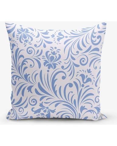 Obliečka na vankúš s prímesou bavlny Minimalist Cushion Covers Ebro, 45×45 cm