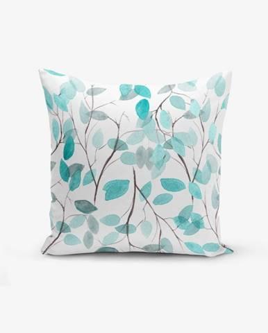 Obliečka na vankúš s prímesou bavlny Minimalist Cushion Covers Leaves, 45×45cm
