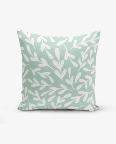 Obliečka na vankúš s prímesou bavlny Minimalist Cushion Covers Mind, 45×45 cm