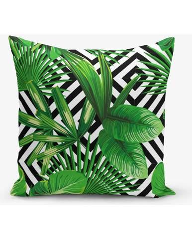 Obliečka na vankúš s prímesou bavlny Minimalist Cushion Covers Systematic, 45×45 cm