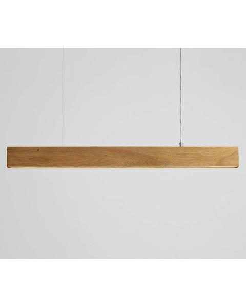 Custom Form Závesné svietidlo z dubového dreva Custom Form Line Plus L
