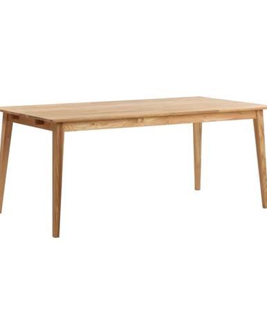 Prírodný dubový jedálenský stôl Rowico Mimi, 180 x 90cm