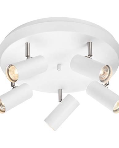 Biele stropné svietidlo Markslöjd Torino Ceiling White 5L