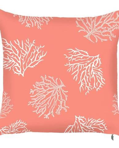 Obliečka na vankúš Mike&Co.NEWYORK Coral Floating, 43 × 43 cm