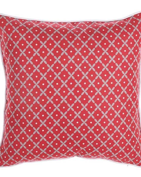 Apolena Červená obliečka na vankúš Mike&Co.NEWYORK Rustic Pattern, 43 × 43 cm