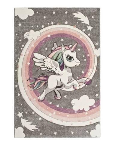 Detský koberec Universal Kinder Unicorn, 120×170cm