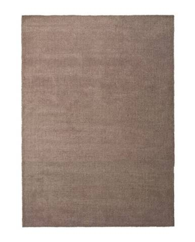 Hnedý koberec Universal Shanghai Liso Marron, 80 × 150 cm