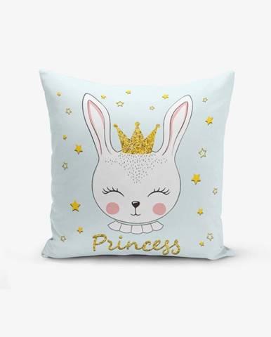 Obliečka na vankúš s prímesou bavlny Minimalist Cushion Covers Princess Rabbit, 45×45 cm