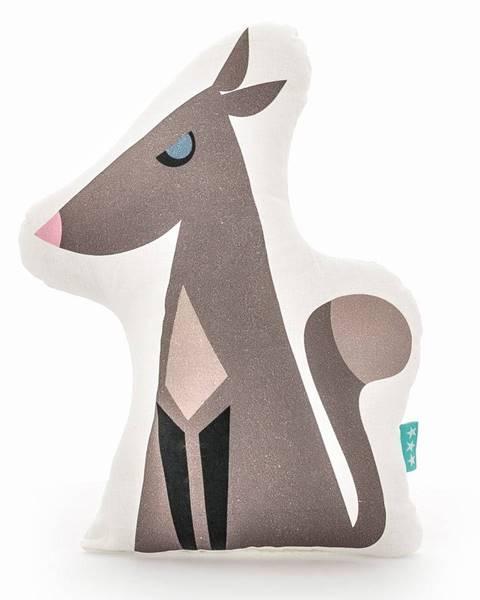 Mr. Fox Bavlnený vankúšik Mr. Fox Wolfie, 40×30cm