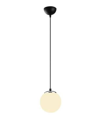 Čierne kovové závesné svietidlo Opviq lights Moses