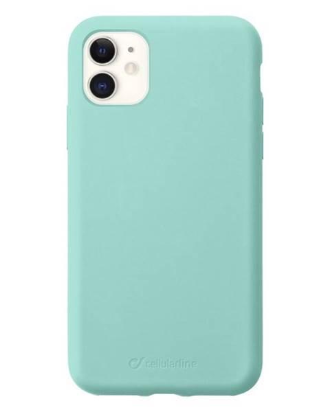CellularLine Kryt na mobil CellularLine Sensation na Apple iPhone 11 zelený