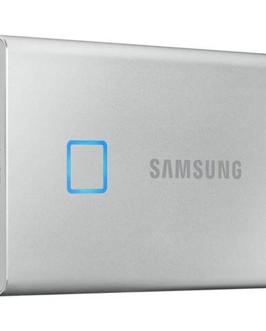 SSD externý Samsung T7 Touch 500GB strieborný
