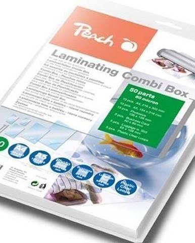 Laminovacie fólie Peach Combi Box 50 ks