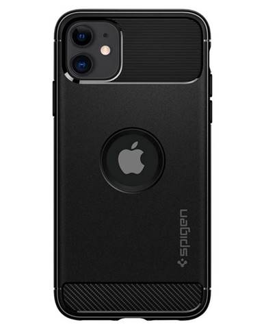 Kryt na mobil Spigen Rugged Armor na Apple iPhone 11 čierny