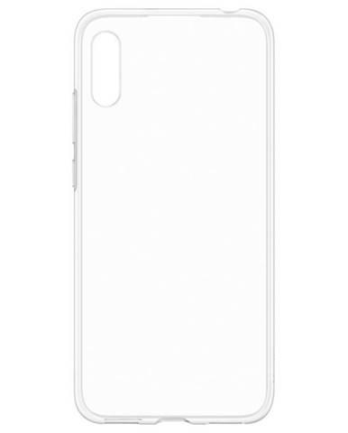 Kryt na mobil Huawei Silicon Protective Case na Y6 2019 priehľadný